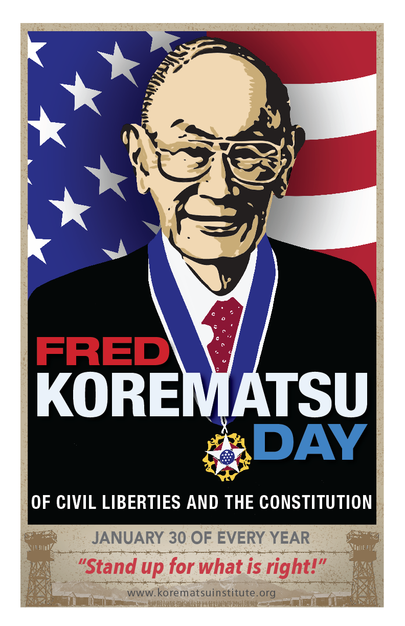 Image courtesy of the Fred T. Korematsu Institute.