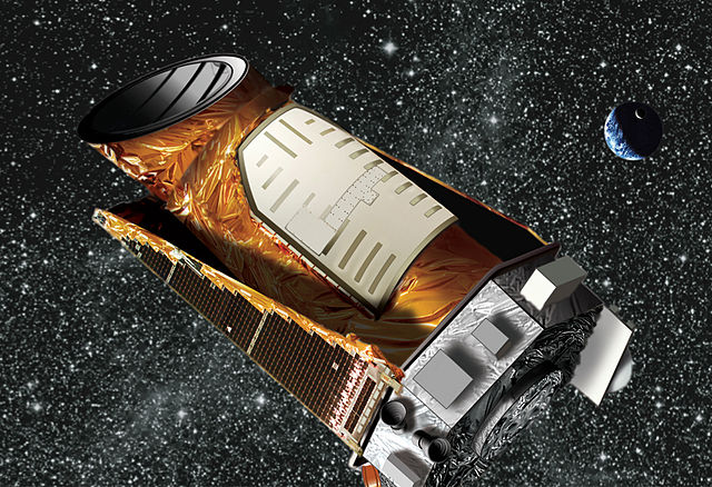 Image of Kepler Space Telescope.