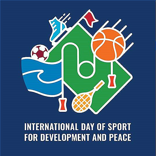 ficial Poster for the International Day of Sport for Development and Peace.