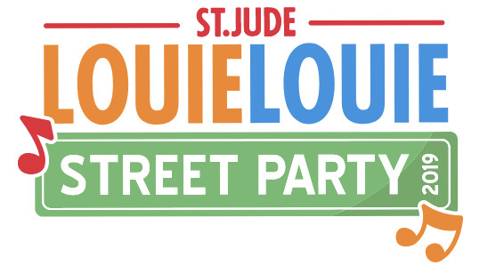 This is an advertisement for the annual Louie Louie Festival in Peoria, Illinois.