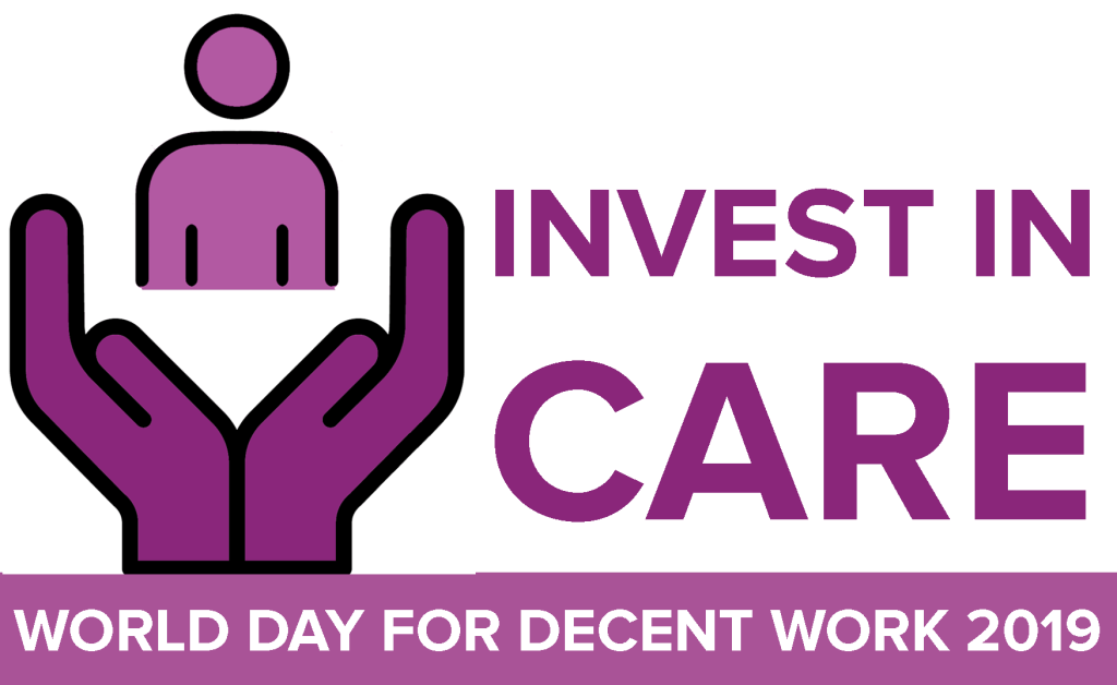 cial Poster for the 2019 World Day for Decent Work