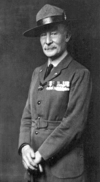 Public Domain image of Robert Baden-Powell.