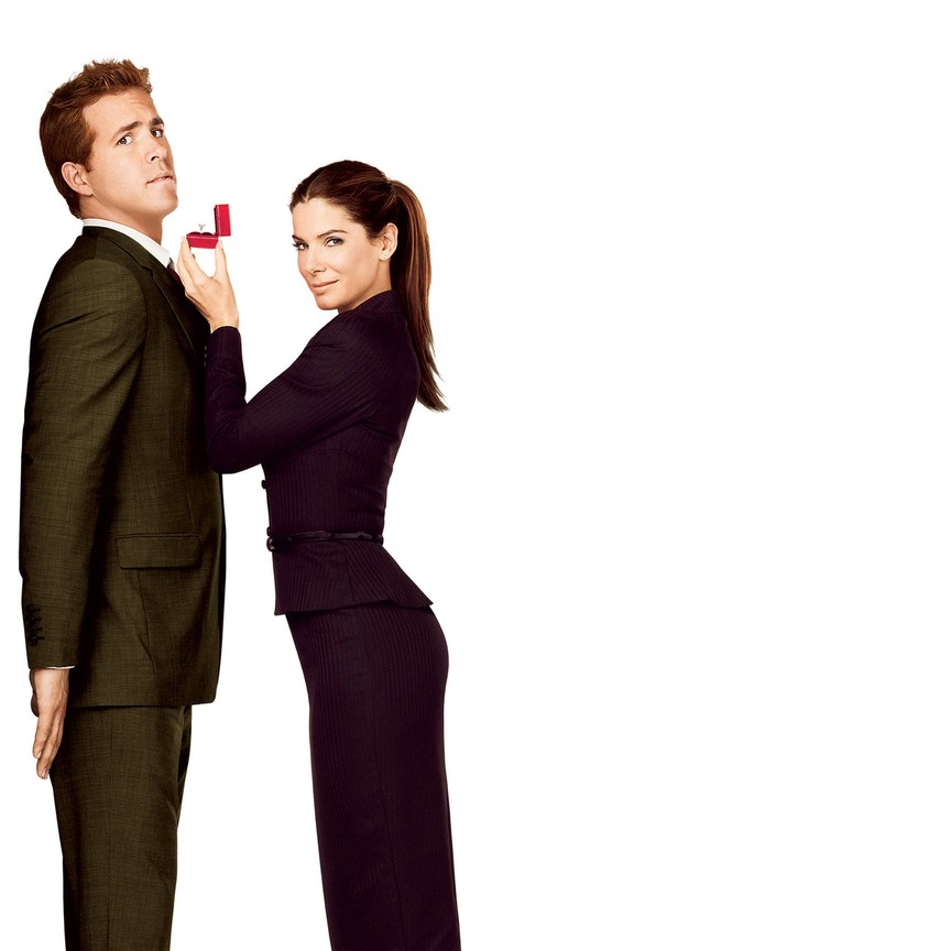 The Proposal starring Sandra Bullock and Ryan Reynolds