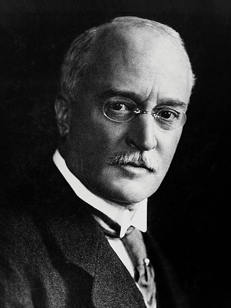 This image of Rudolf Diesel was created before 1913 and is in the public domain.