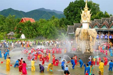 Water Sprinkling Festival