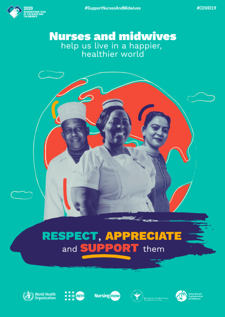 Official 2020 World Health Day Poster