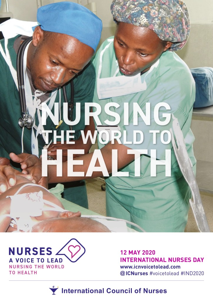 Official 2020 International Nurses Day Poster